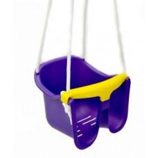 Hojdačka plastová baby - fialová Preview