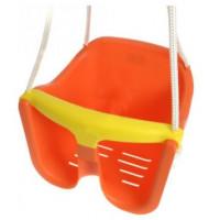 Hojdačka plastová baby - oranžová