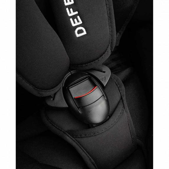 Autosedačka CARETERO Defender Plus Isofix 2016 čierna