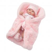 Luxusná detská bábika-bábätko Berbesa Anička 28 cm