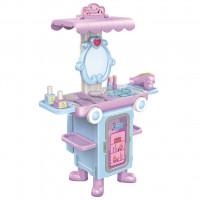 Detský rozkladací kozmetický stolček autobus Bayo + príslušenstvo