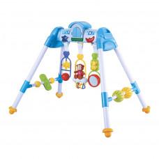 Detská hrajúca edukačná hrazdička BAYO premium - modrá Preview