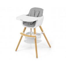 Jedálenská stolička Milly Mally 2v1 Espoo sivá Preview