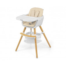 Jedálenská stolička Milly Mally 2v1 Espoo béžová Preview