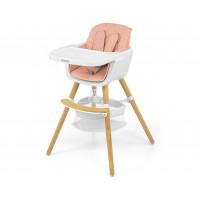 Jedálenská stolička Milly Mally 2v1 Espoo ružová