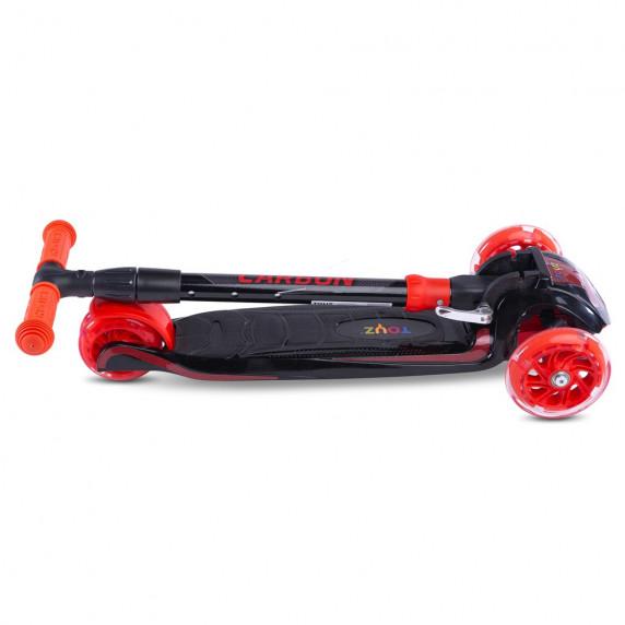Detská kolobežka Toyz Carbon - červená