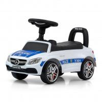 Detské odrážadlo Mercedes Benz AMG C63 Coupe Milly Mally - Police