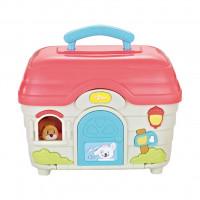 Interaktívna hračka domček pre zvieratká BAYO
