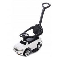 Aga4Kids Odrážadlo BMW s vodiacou tyčou - Biely