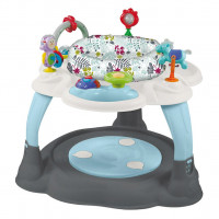 Multifunkčný stolček Baby Mix - Modro/sivý