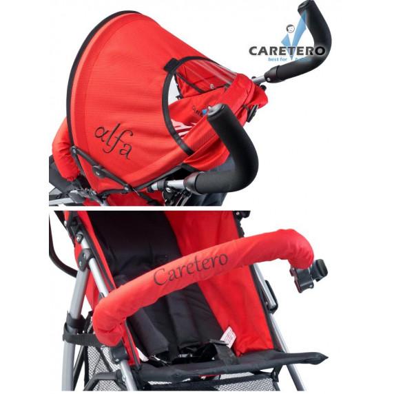 Golfový kočík CARETERO Alfa red 2016