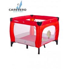 Detská skladacia ohrádka CARETERO Quadra - červená Preview