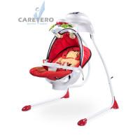Detská hojdačka CARETERO Bugies červená