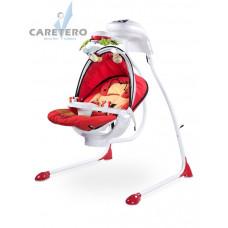 Detská hojdačka CARETERO Bugies červená Preview