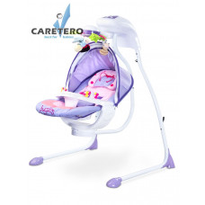 Detská hojdačka CARETERO Bugies fialová Preview