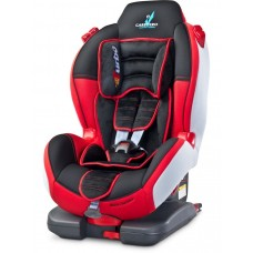 Autosedačka CARETERO Sport TurboFix red 2016  Preview