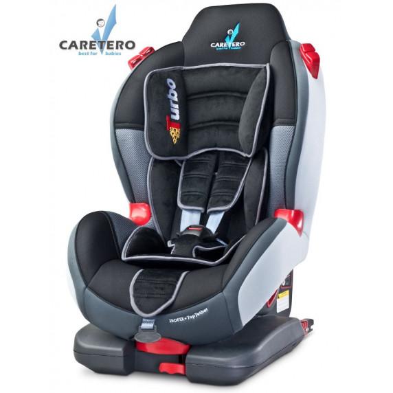 Autosedačka CARETERO Sport TurboFix graphite 2016