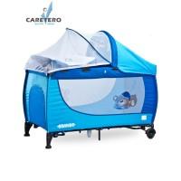 Cestovná postieľka CARETERO Grande blue 2016