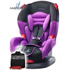 Autosedačka CARETERO IBIZA New purple 2016 + darček Preview
