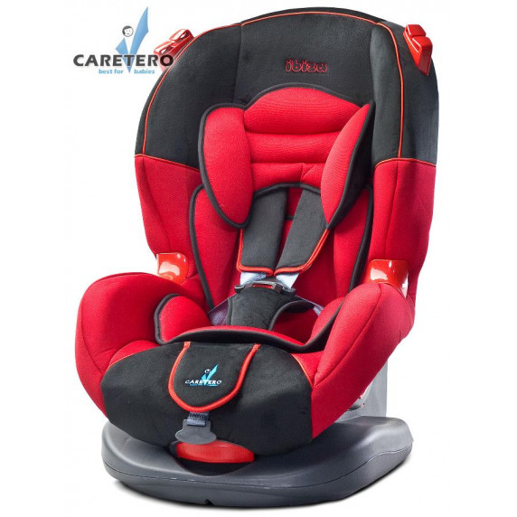 Autosedačka CARETERO IBIZA New red 2016