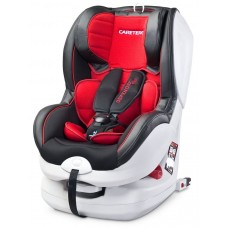 Autosedačka CARETERO Defender Plus Isofix red 2016 Preview