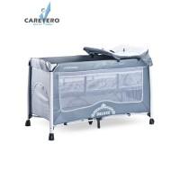 Cestovná postieľka CARETERO Deluxe grey