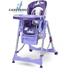 Jedálenská stolička CARETERO Magnus Fun purple Preview
