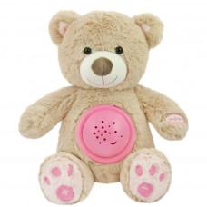 Plyšový medvedík s projektorom Baby Mix ružový Preview