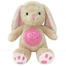 Plyšový zajačik s projektorom Baby Mix ružový Preview