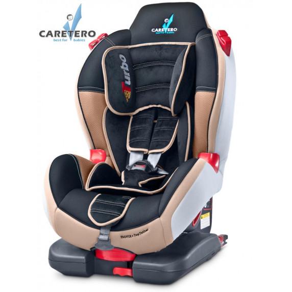 Autosedačka CARETERO Sport TurboFix beige 2016
