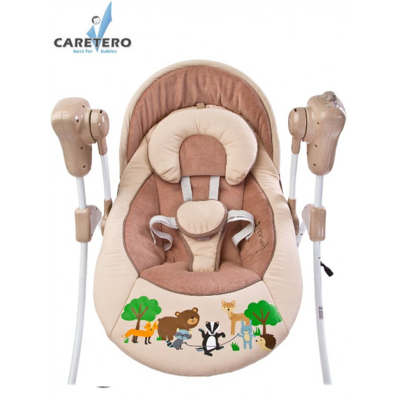 Detská hojdačka CARETERO FOREST beige