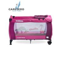 Cestovná postieľka CARETERO Medio purple