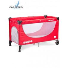 Cestovná postieľka CARETERO Simplo 2016 red Preview