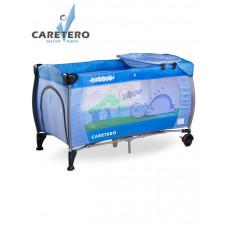 Cestovná postieľka CARETERO Medio blue Preview