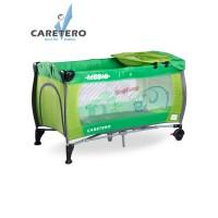 Cestovná postieľka CARETERO Medio green
