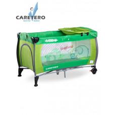 Cestovná postieľka CARETERO Medio green Preview