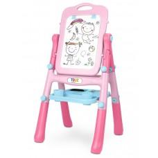 Obojstranná edukačná tabuľa Toyz pink Preview