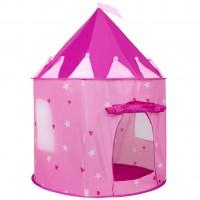Detský stan Play To hrad ružový