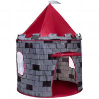 Detský stan Play To hrad sivý