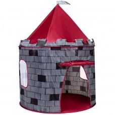 Detský stan Play To hrad sivý Preview