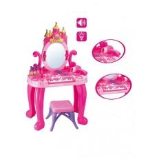 Detský toaletný stolík s pianom a stoličkou Bayo + příslušenství 13 ks Preview