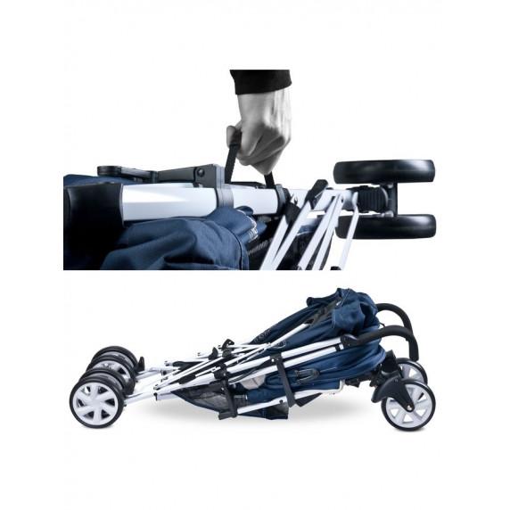 CARETERO Moby golfový kočík - modrý