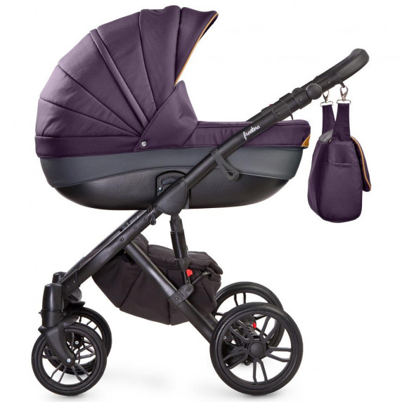 Kočík CAMINI Frontera kombinovaný 2v1 2018 purple