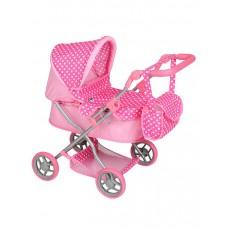 Detský kočík pre bábiky Play TO Viola svetloružový Preview
