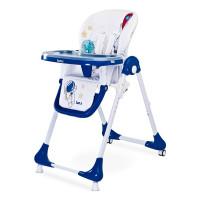 CARETERO Luna jedálenská stolička - modrá navy
