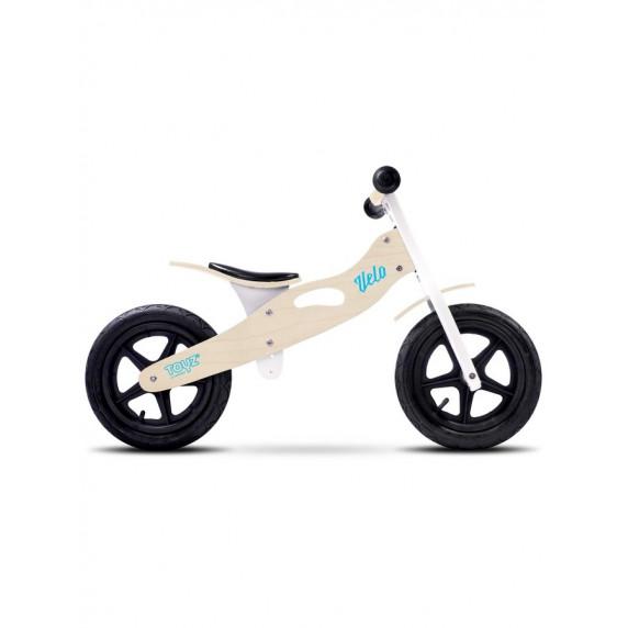 "Detské drevené cykloodrážadlo Toyz Velo 12"" -  natural"