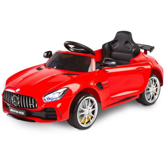 Elektrické autíčko Toyz Mercedes GTR - 2 motory red