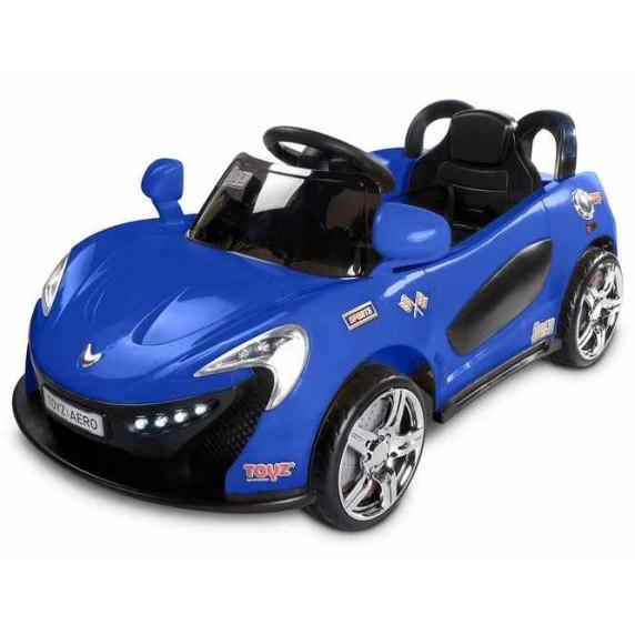 Elektrické autíčko Toyz Aero - 2 motory, 2 rýchlosti modré