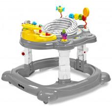 Detské chodítko Toyz HipHop 3v1 sivé Preview