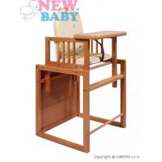 Buková stolička New Baby Victory - prírodná Preview
